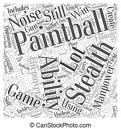 BWPB stealth and pai Word Cloud Concept