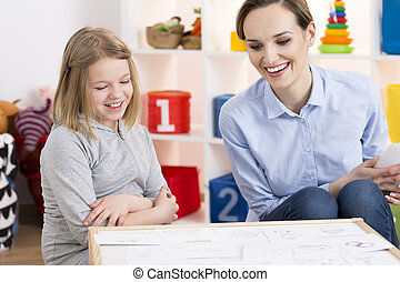 Private class for little girl - Private class with young...