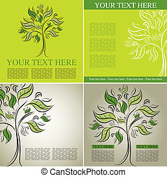 Four Vector samples of design