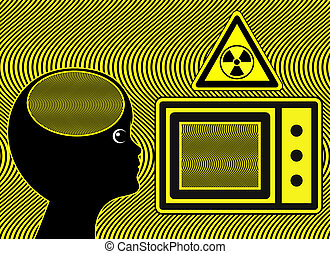 Microwave Oven harm Kids - Electromagnetic wages may harm...