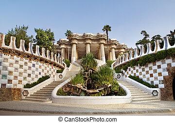 entrada, el, Gaudi, museo