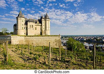 Chateau de Saumur, Pays-de-la-Loire, France