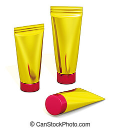 Packaging gold tubes