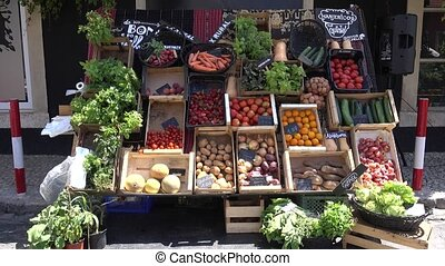 LISBON JUNE 5 2016 Farmers market