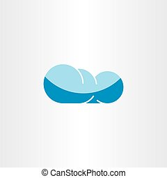 cloud icon sign element vector symbol