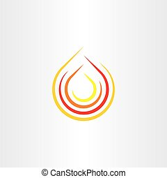 fire clip art flame vector icon logo symbol