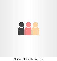 people icon design element