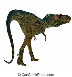 Albertosaurus Dinosaur Tail - Albertosaurus was a...