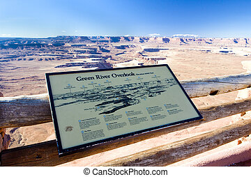Canyonlands National Park - Green River, Canyonlands...