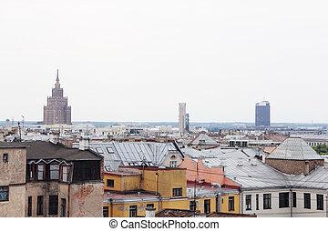 Cityscape of Riga, Latvia - Cityscape of city Riga, Latvia