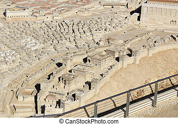 Model of Ancient Jerusalem Focusing on the Lower City -...
