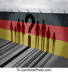 German Immigration Question - German refugee question and...
