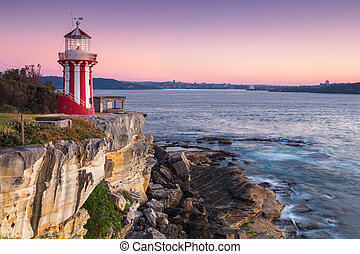Hornby lighthouse, Entrance of Sydney, at Watsons bay