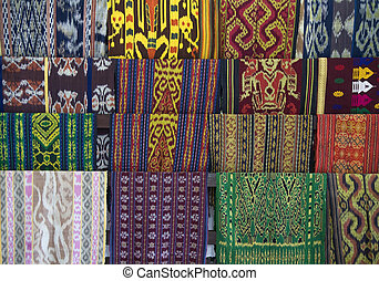 Lombok textile - Traditional textile of Lombok, Indonesia