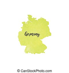 Abstract Germany map