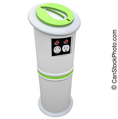 Electric Vehicle Charging Station - An electric vehicle...