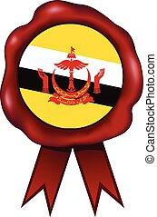 Brunei Wax Seal - Brunei wax seal.