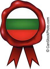 Bulgaria Wax Seal - Bulgarian wax seal.