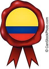 Colombia Wax Seal - Colombian wax seal.
