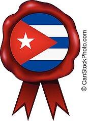 Cuba Wax Seal - Cuban wax seal.