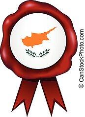 Cyprus Wax Seal - Cyprus wax seal.
