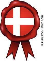 Denmark Wax Seal - Danish wax seal.
