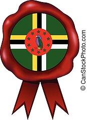 Dominica Wax Seal - Dominica wax seal.