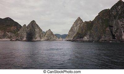 South-eastern coast of Kamchatka peninsula in southwestern...