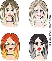 4 types of womens appearance