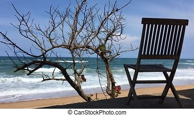 Deckchair Time Lapse Vietnam - A time lapse clip looking out...