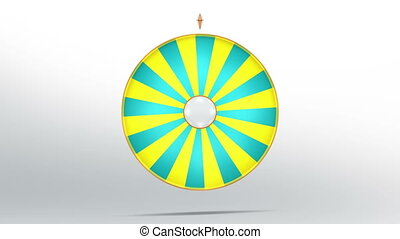 lucky wheel fortune twenty four 4K - Lucky spin represent...