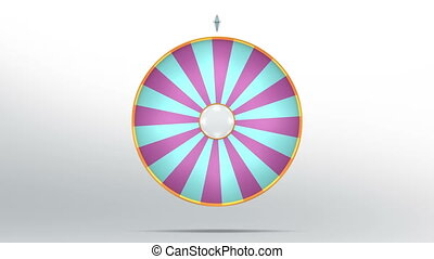 lucky wheel fortune twenty four color - Lucky spin represent...
