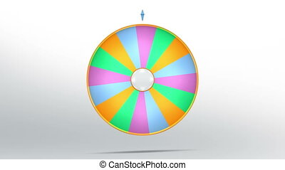 lucky wheel fortune sixteen color - Lucky spin represent the...