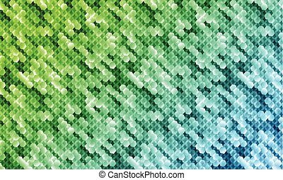 Abstract mosaic vector pattern for digital screen