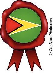 Guyana Wax Seal - Guyana wax seal.
