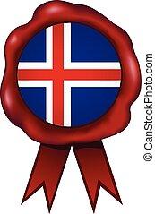 Iceland Wax Seal - Iceland wax seal.