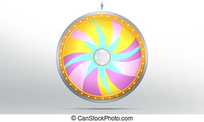star lucky spin twelve pink 4K - Lucky spin represent the...