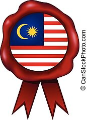 Malaysia Wax Seal - Malaysian wax seal.