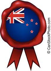New Zealand Wax Seal - New Zealand wax seal.