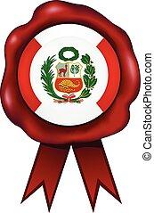 Peru Wax Seal - Peruvian wax seal.