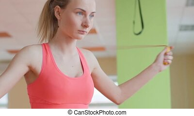 fitness and lifestyle concept - woman doing sports. girl...