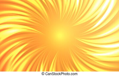 Abstract autumnal hot sun burst vector background