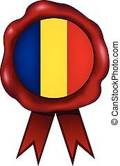 Romania Wax Seal