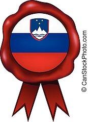 Slovenia Wax Seal - Slovenian wax seal.