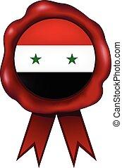 Syria Wax Seal - Syria wax seal.