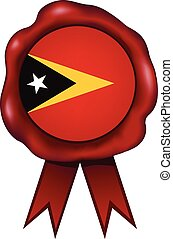 East Timor Wax Seal - East Timor wax seal.