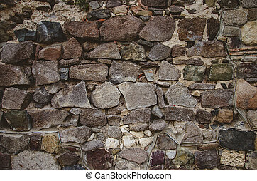 abstract background with brutal stones