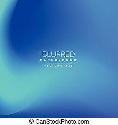 blue blur vector background