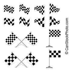 Racing Flags, set