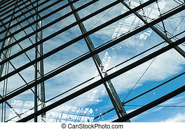 Glass windows centre business